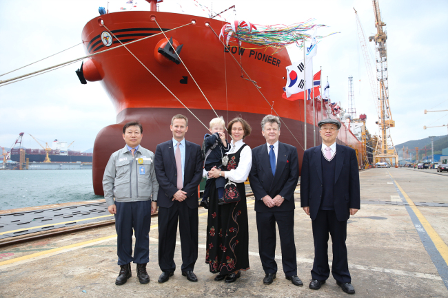 The first ship manufactured by DSME 35 years ago, Bow Pioneer, is now .. 이미지