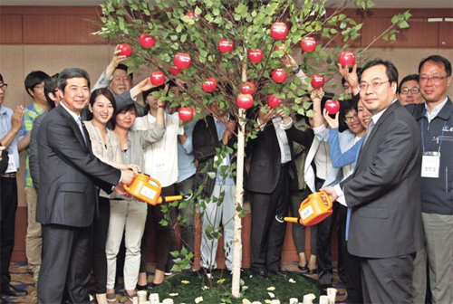 Hanwha offers one billion won to twenty environmental-friendly social .. 이미지