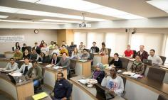 KAIST College of Business (KCB), students from 22 countries participate in Korean Finance course. 이미지
